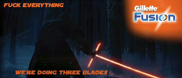 lighsaber three blades